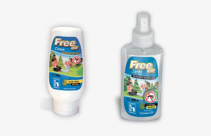 Free air - Repelente de insectos